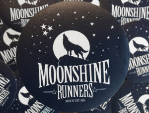 Moonshine Runners Society sticker