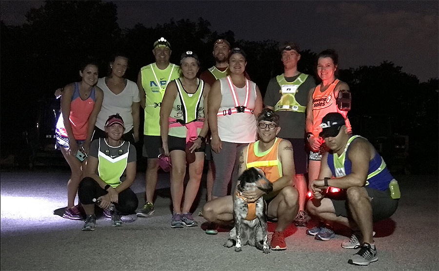 Moonshine Runners Society group photo